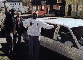 Tupac middle finger cop